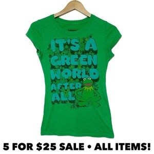 Muppets Kermit the Frog Fitted Tee